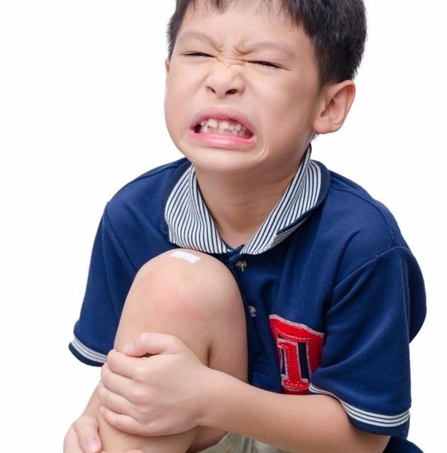 スネの痛み 画像